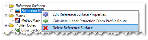 reference surface delete